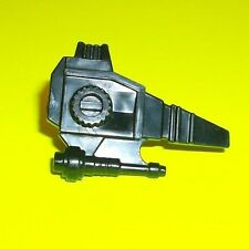 VTG 1980's VOLTRON Authentic Black Gun Blaster Weapon RED LION Accessory Panosh