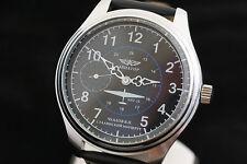 Chkalov Aviator Russian USSR vintage military style airplaine wrist watch