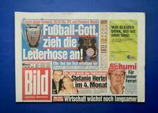 Bild Zeitung -  23. 5. 2001 - Stefanie Hertel * Jeanette Biedermann * Schumi