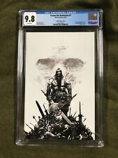 🔥CONAN THE BARBARIAN #1 Zaffino B&W Virgin Variant CGC 9.8 (only 500 made) 🔥