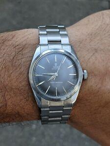 Vintage MEN'S Tudor 7934 Oyster Manual Wind Stainless Steel Wristwatch