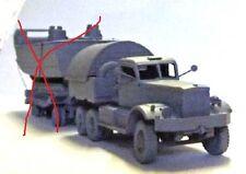 Milicast UK272 1/76 Resin WWII British Diamond T980/981 Tank Transporter Tractor