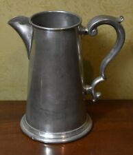New listing Finest English Pewter Water Pitcher made by Craftsman Sheffield England