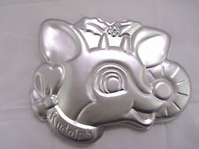 Vintage Rudolph the Red-Nosed Reindeer Cake Pan 1981  #2105-4722