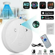 Mini HD 1080P SPY Camera Hidden Smoke Detector Motion Detection Nanny Cam DVR US