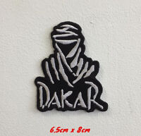 Dakar Rally Sports Cars Art Badge Iron or Sew on Embroidered Patch