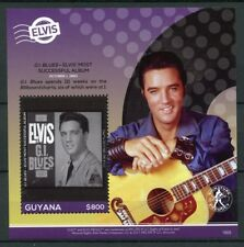 Guyana 2018 MNH Elvis Presley His Life in Stamps 1v S/S III Music Celebrities