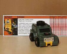 Vintage Hasbro G1 Transformers Action Figure! Brawn! 1984 Takara!  80's!