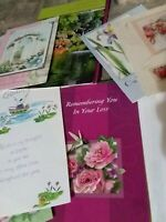 Assorted Greating Cards and Assorted Envelopes Lot.