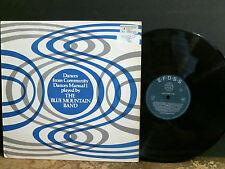 BLUE MOUNTAIN BAND  Community Dances Manuel 1   L.P.  Folk   Lovely copy!