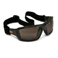 Dewalt Converter Safety Glasses Goggles Smoke Anti Fog Lenses Foam Padded