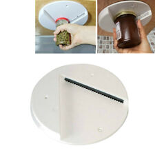 Jar Opener Can Opener Bottle Lid Remover Under Kitchen Cabinet Counter Top White