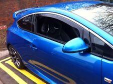 HEKO 25337 Wind Deflectors Vauxhall Astra GTC 2010> Pair Internal Fit  inc Clips