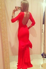 Boldgal Western Backless Club Evening Gown Women Dress