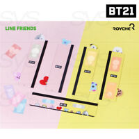BTS BT21 Official Authentic Goods Monitor MemoBoard SET 5TYPE By Royche + Track#