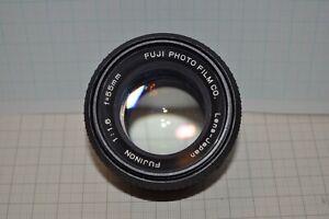 Fuji Fujinon 55mm f/1.6 Prime Camera Lens Fits M42 Mount