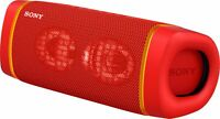 Sony SRS-XB33 Portable Rechargeable Waterproof Bluetooth Speaker  - Red