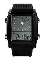 LED Digital Design Herrenuhr Armbanduhr Datum Licht Alarm Uhr Digital Analog