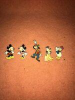 Mickey Mouse Goofy Pluto Daisy And Minnie Disney Pin Badges