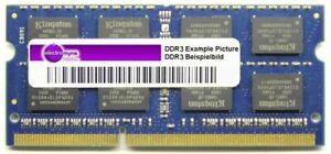 2GB Elpida DDR3-1333 RAM PC3-10600S CL9 2Rx8 so-Dimm EBJ21UE8BDS0-DJ-F Notebook