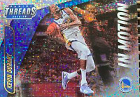 IN MOTION DAZZLE BASKETBALL CARDS