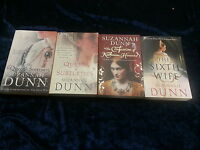 4 COMPELLING BOOKS by SUZANNAH DUNN ** UK POST £3.25 ** PAPERBACKS