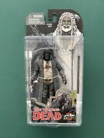 "McFarlane Skybound Ezekiel B&W Bloody - Walking Dead 5"" Exclusive SDCC 2014"