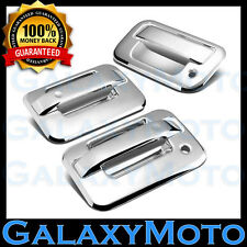 04-14 Ford F150 Chrome 2 Door Handle+no keypad no PSG keyhole+Tailgate Cover