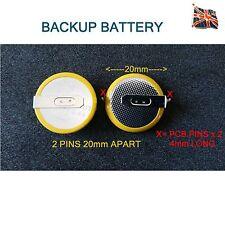 3v batteria di back-up Scheda Tipo di Saldatura Tag con tag con schede di memoria al litio cr2032 PCB