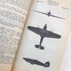 WW2 1943 BRITISH GERMAN AIRCRAFT RECOGNITION MANUAL RAF SPITFIRE HURRICANE Me109