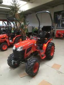 "Kubota B1241 Traktor  ""Kleintraktor Neuheit"" Baujahr 2020"