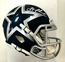 TROY AIKMAN Signed Dallas Cowboys AMP Mini Helmet Beckett Witnessed COA - HOF
