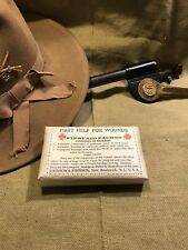 Spanish American War US Army First Help For Wounds Individual First Aid Dressing