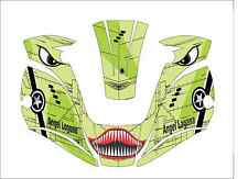 MILLER digital ELITE 257213 WELDING HELMET WRAP DECAL STICKER welder shark mouth