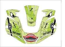 Miller Digital Elite 257213 Welding Helmet Wrap Decal Sticker Welder Shark Mouth