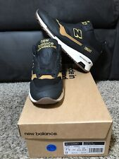NEW BALANCE 1500 Made in England Running Shoe Men US Size 7.5 MH1500KT Black/Tan