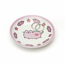 Enesco Our Name is Mud Pusheen Pastel Purple Jewelry Holder Trinket Tray 4 Inch