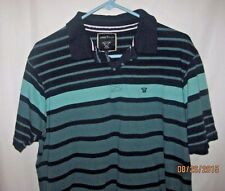 Mens James Pringle Size L Short Sleeve Half Button Pullover Casual Shirt