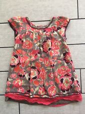 Monsoon Girls Age 4-5 Long Top Flowers Floral Pretty Spring Summer HolidayCasual
