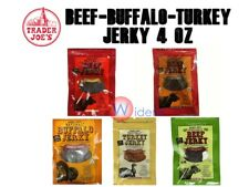 Trader Joe Joe'S Beef Buffalo Turkey Jerky 4 Oz