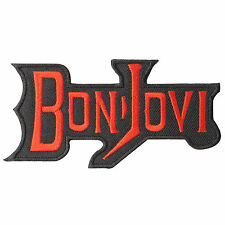 Bon Jovi Music Hard Rock Rocker Band Iron on Patches Vest Jacket T Shirt #S127