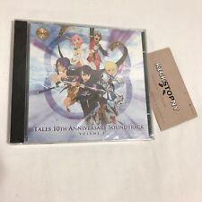 Tales 10th Anniversary Soundtrack - Volume 3 - FACTORY SEALED VESPERIA
