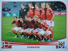 Panini 353 Team Danmark Dänemark FIFA WM 2010 Südafrika
