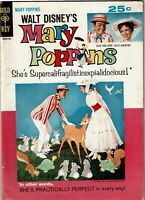 Mary Poppins - Disney Movie Gold Key comic - VG Minus