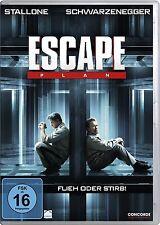 DVD  * ESCAPE PLAN - FLIEH ODER STIRB - Schwarzenegger - Stallone  # NEU OVP $