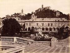 Photo Alfredo Noack Albuminé Gênes Genova Italia Vers 1880