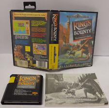 Console SEGA 16 BIT MEGA DRIVE Megadrive PAL King's Bounty The Conqueror's Quest