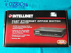 8 Porte Fast Ethernet Office Switch 10 100 Mbps Speeds of up 200 Mbps Metal Case