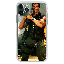 Phone Case for iPhone 11 PRO MAX Cover Arnold Schwarzenegger Commando Bazooka