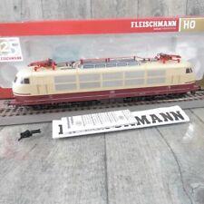 FLEISCHMANN 437601 - HO - DB - E-Lok 103 113-7 - m. DSS - OVP - #AA27097